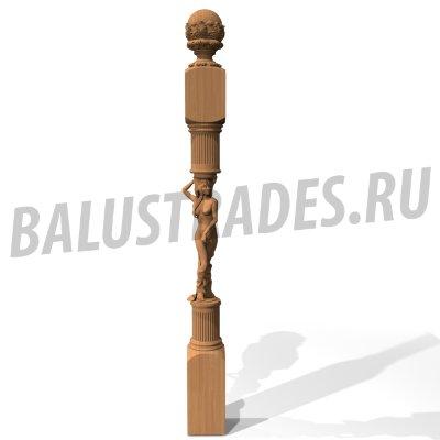 Балясина 48 плоская - 900х192х40 мм: продажа, цена в